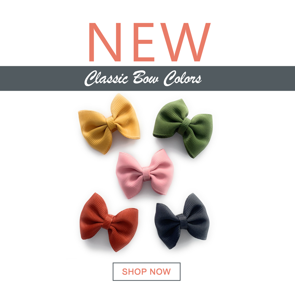 NEW colors just arrived October 2019! Classics Bows