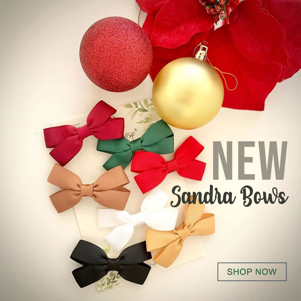 Introducing New Sandra Boutique Bows - perfect for Toddler Pigtails