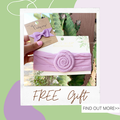 FREE* Headband and Wisp Clip at Baby Wisp® This Month!