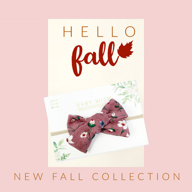 Fall Bow Styles and Outfits for Baby and Toddler Girls