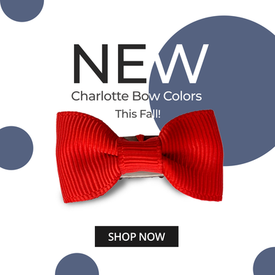 Just Arrived - New Charlotte Bow Colors | Snap Clip and Wisp Clip