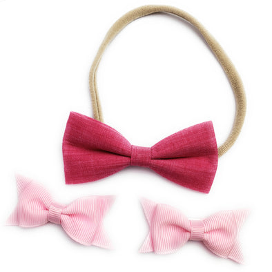 Free Gift:  Valentine's Hugs Set of Bows