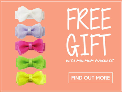 Summer Garden Hair Bow Collection FREE with minimum purchase