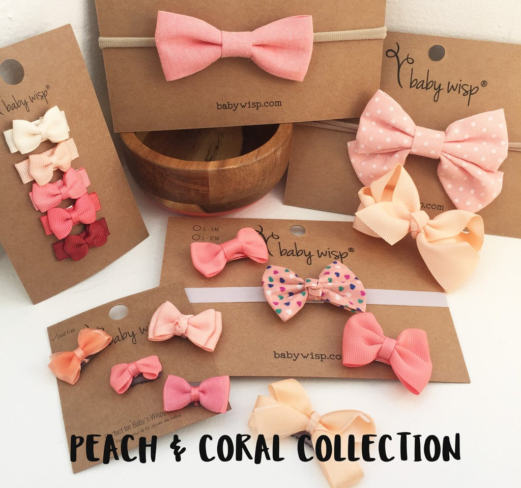 New! Color Shop: Peach & Coral Collection