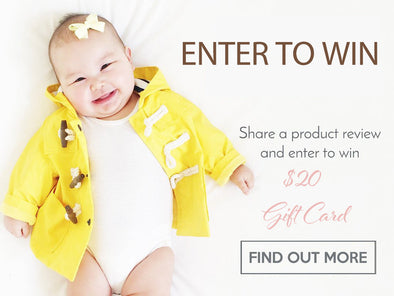 Share a product review and Enter to Win a Gift Card!