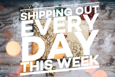 SHIP OUTS EVERY DAY THIS WEEK!
