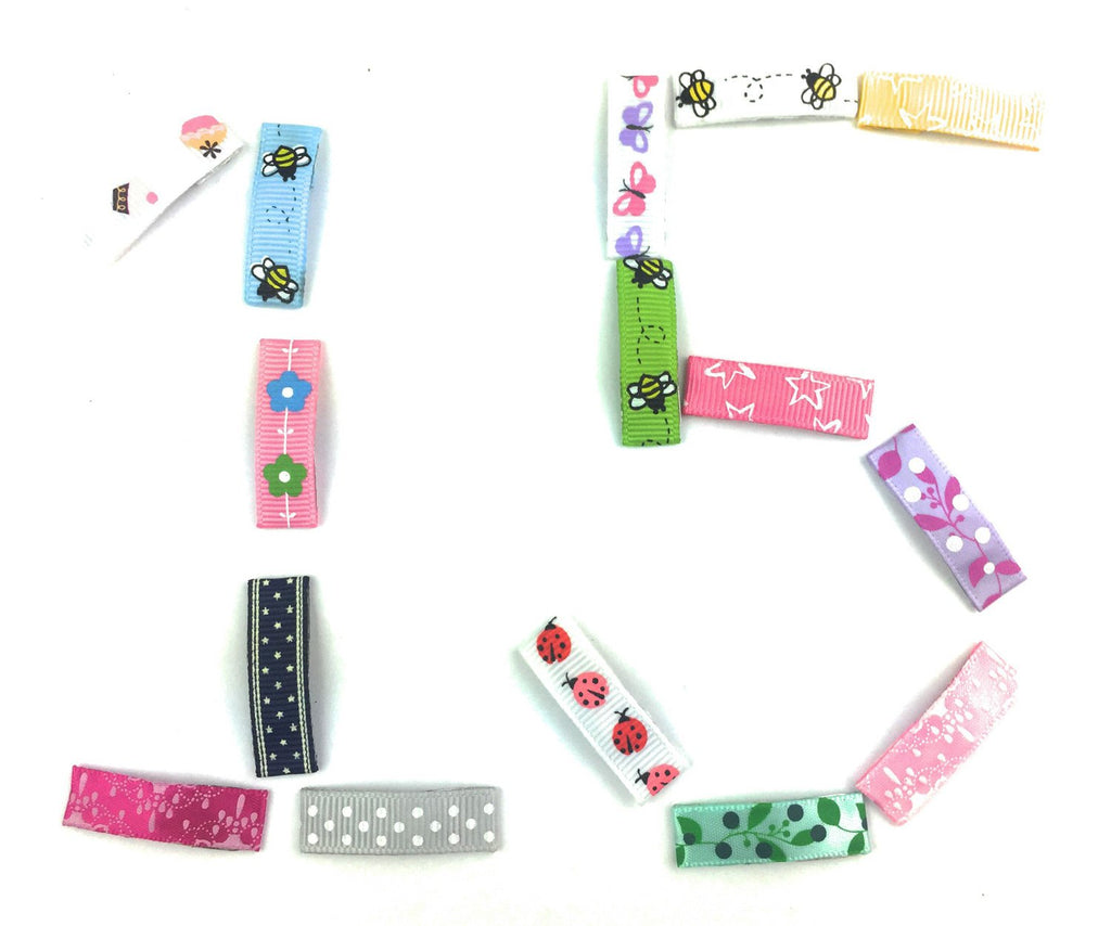 Ribbon Clips CLEAROUT SALE On Now! No Slip Grip Pinch Clips and Snap Clips for Baby and Toddler