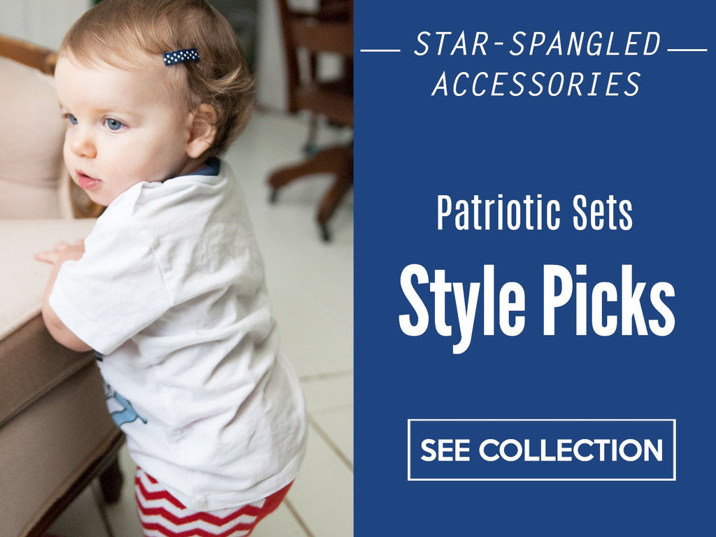 Star Spangled Accessory Ideas for Infants and Toddlers