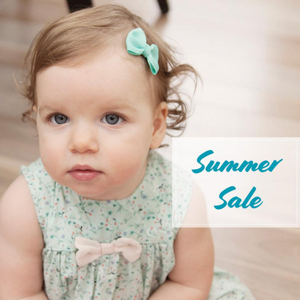 Summer Baby Girl Outfits Need the Perfect Bows