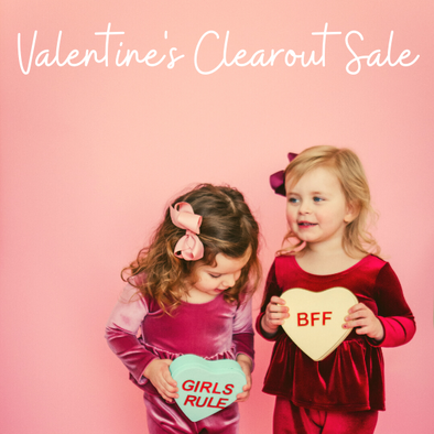Valentine's Clearout Sale Starts Now!