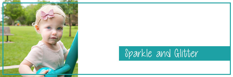 Sparkle and Glitter Hair Accessories