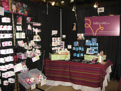 Baby Wisp at the Butterdome Craft Show