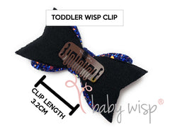 large latch clip wisp clip toddler hair clip no slip clip