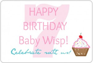 Baby Wisp Birthday