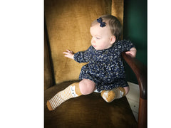 Gorgeous fall baby bow fashion