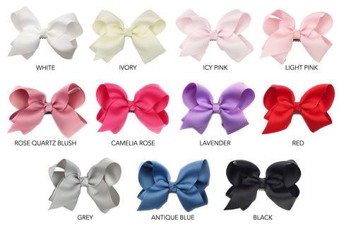 americana large latch wisp clip bows all colors