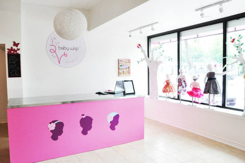 baby hair accessories boutique in toronto