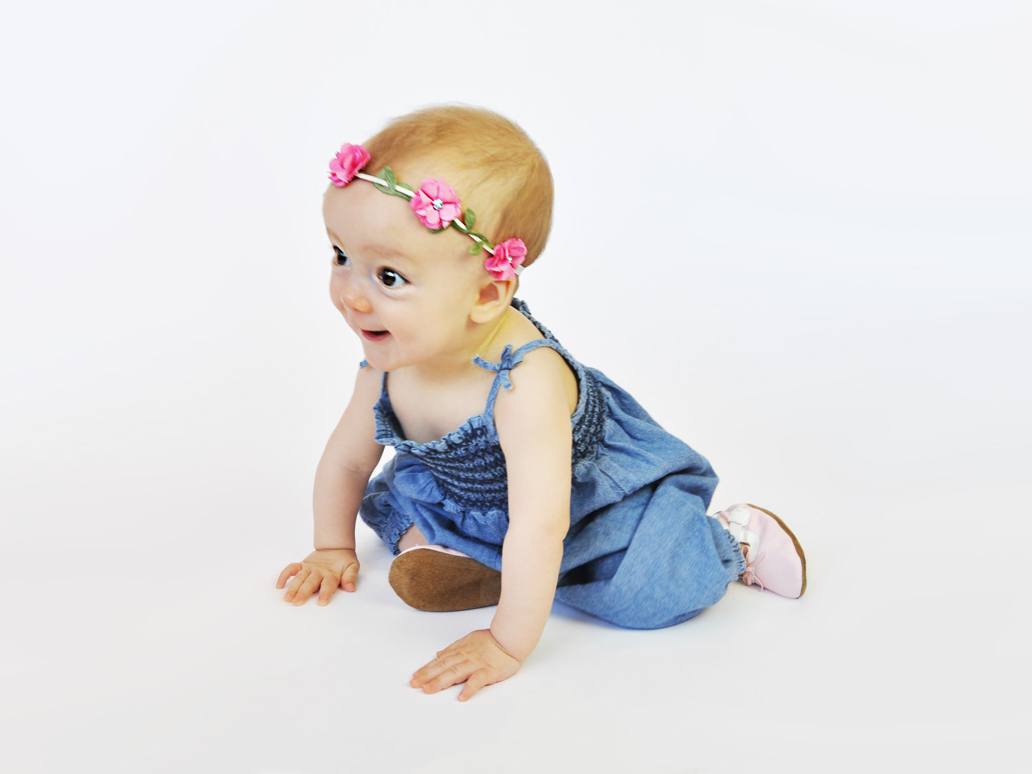 Baby headband flowercrown