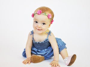 Baby Flower Crown Headbands