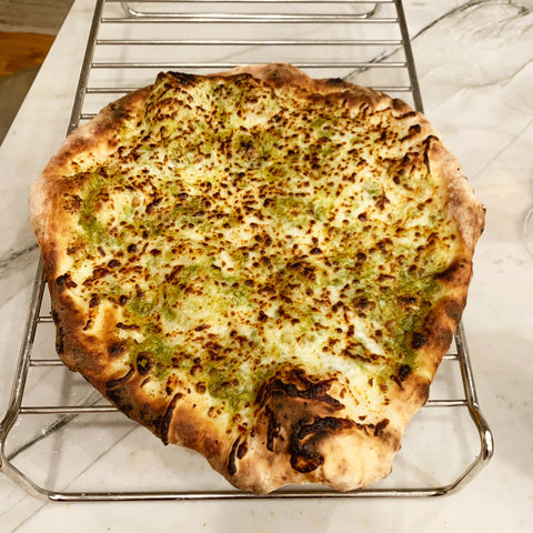 Pesto Pizza by Beena
