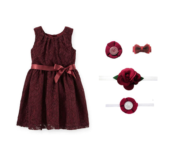 Burgundy Merlot HairAccessories