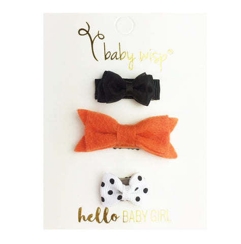 free gift hair bows with purchase.