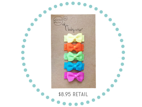 free gift set 5 tiny bows