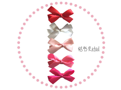 free baby hair bows with purchase this month