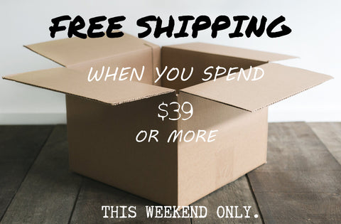 Free shipping with minimum purchase