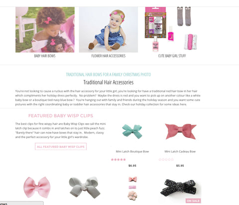 new baby wisp website has launched for improved customer experience