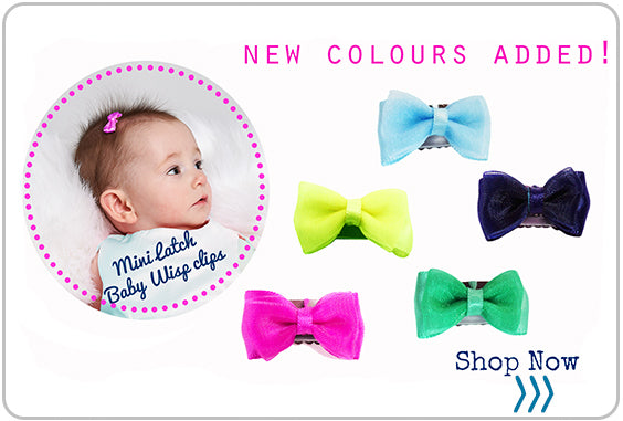 New colours in your favourite hair bows