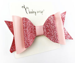 big fairy toddler bow