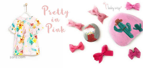 pretty in pink bow collection and outfit pairing