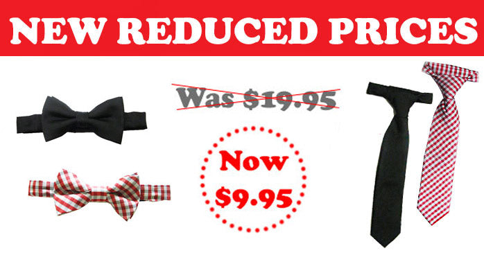 Boy's Ties only $9.95