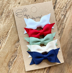 free gift cadeau bow christmas set