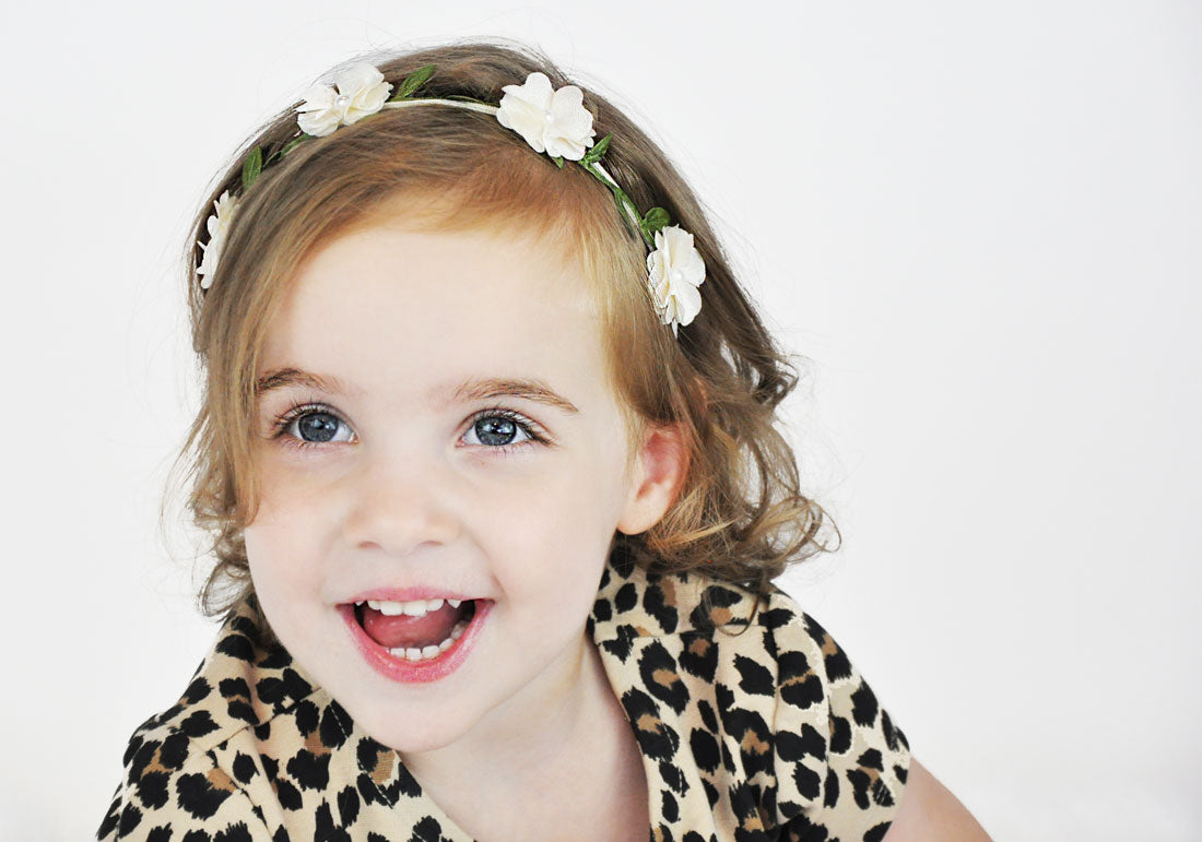 Baby Flowercrown headbands