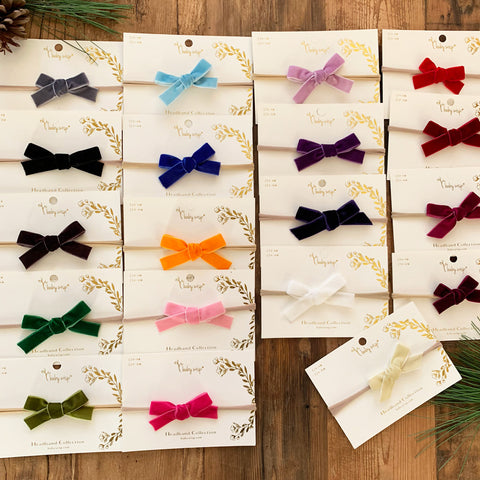 velvet bow collection