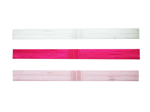 2-in-1-elastic-headband - white fuchsia light pink