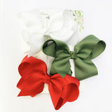 Christmas Bows Gift Set for Toddler Girls - Baby Wisp