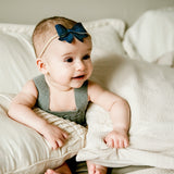 Baby Headband, 3 Wisp Clip Set - The Patriot - Baby Wisp