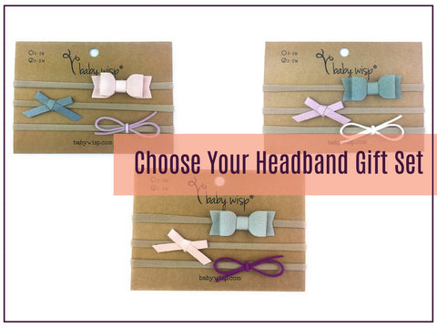 unique baby gift for baby girls - headbands for babies gift
