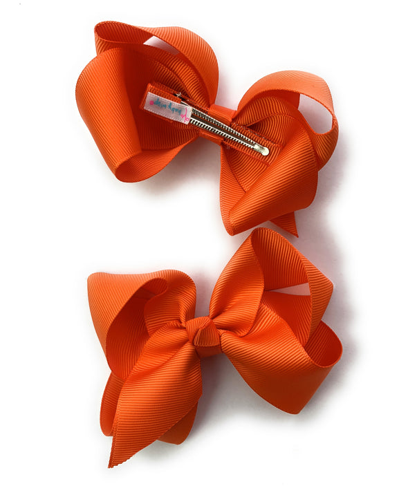 6 Americana Diamond Rhinestone Boutique Hair Bows Assorted Colors - Baby Wisp