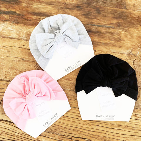 Butterfly Bow Headwrap Hat | PICK 1 - Baby Wisp