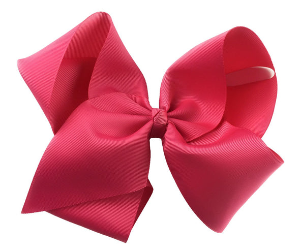 Mariah Bow Pinch Clip - Camelia Rose - Baby Wisp