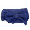 Lana Large Bow Headband - Extra Wide Headwrap - Baby Wisp