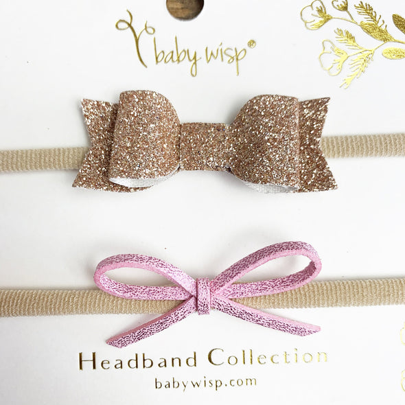 Christmas Headbands Glitter Gifts Holiday Parties | Baby Wisp - Baby Wisp