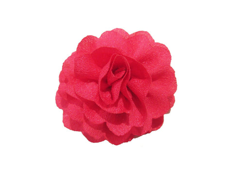 Mini Latch Dahlia Flower Clip - Fuchsia - Baby Wisp