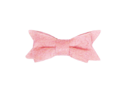 Mini Latch Felt Bow - Baby Wisp