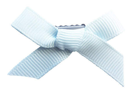 ribbon bows baby hair clips for wispy fine hair