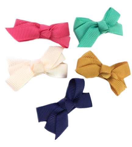 Small Snap Chelsea Boutique Bow Collection - Chantilly - Baby Wisp
